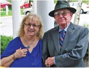 Quail Hollow resident Clint Granger with fiancée Lynn Duffy.