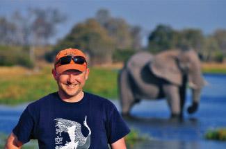 Lebanon resident, Dan Hopkins, founder of GrassTracks Safaris