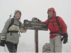 Paul and Kristen Coats at Mt. Washington