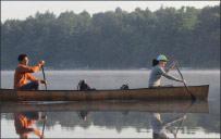 Paul and Christine Coats on the lake