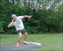 Carl Wallin coached Dartmouth throwers for 40 years
