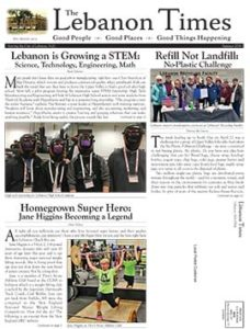 Lebanon Times Summer 2018 Edition Front Cover