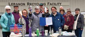 Lebanon mayor's proclamation ceremony at Lebanon's Recycling Facility