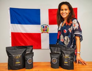 Yaniris McLenithan, co-founded (with husband, Dan) Hato Viejo Coffee, a locally-roasted coffee company.